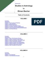 Elman Bacher- Astrologie Vol1-9- Engleza