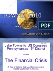 Jake Towne for US Congress PA-15 - The Financial Crisis (WEB) (Sept 2009)