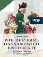 Foede, Petra - Wie Der Earl Das Sandwich Entdeckte
