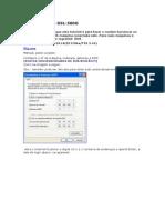 Configurando o DSL500g