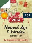 Programme nouvel an chinois 2014 Paris