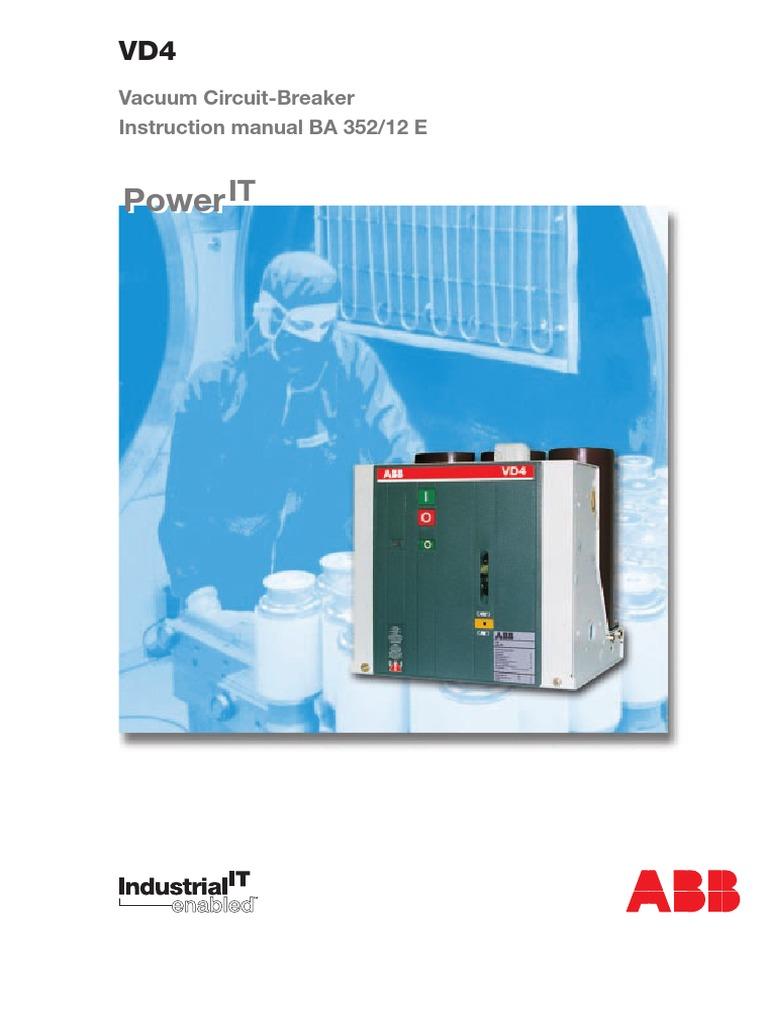 VD4_12-24kV_16-40kA Manual-   Switch   Electric Arc
