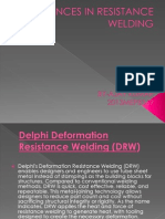 Advances in Resistance Welding