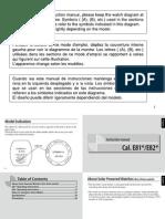 Citizen Instruction Manual E820