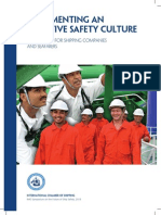 Implementing an Effective Safety Culture