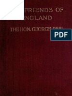 (1905) The Friends of England by George Peel