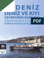 Akdeniz Deniz ve Kıyı Çevresinin Durumu - Özet