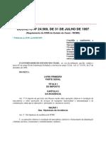 Decreto nº 24.569, de 1997