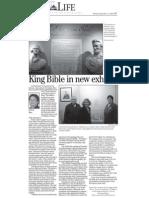 King Bible Exhibit Email