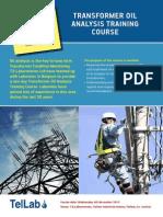 Transformer Oil Analysis Training course - MR.pdf
