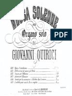 Messa solo Organo - Quirici