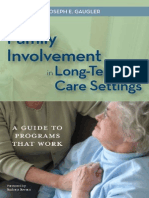 Promoting Family Involvement in Long-Term Care Settings