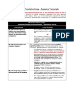 Notary and Translation Guide for academic transcript for applying to US universities for pHD