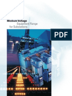 Siemens - Medium Voltage Equipment Range for Substations