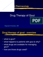 Gout Pharmacology