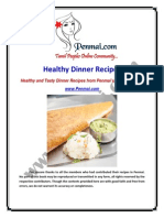 Penmai Dinner Recipes eBook