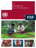 The Global Partnership for Development at a Critical Juncture