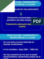 3.0 RECOLECCIÓN, RECEPCIÓN Y TRANSPORTE DE LA LECHE