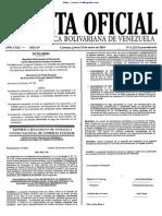 Gaceta Oficial 6122 2014