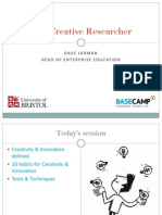 The Creative Researcher