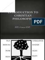 703, Introduction to Christian Philosophy