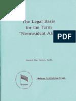 Legal Basis for Term Nr Alien