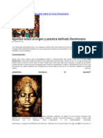 Apuntes sobre el Vudú Dominicano