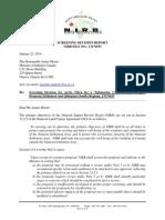 NIRB screening decision, Arctic Fibre Inc. marine cable proposal