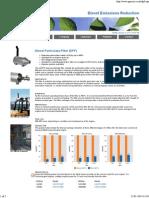 Diesel Particulate Filter, DPF