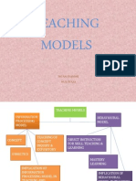8 Teaching Models