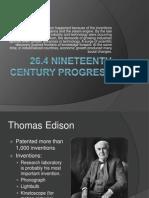 26 4 nineteenth century progress