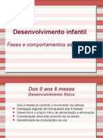 Power Point Desenvolvimento Infantil