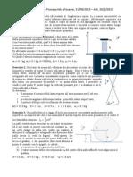 compiti di fisica