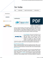 Smart Grid for India_ COMPANIES