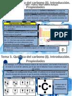 Tema 5. Quimica Carbono I