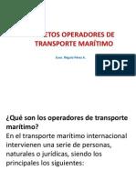 Sujetos Operadores Del Transporte Maritimo