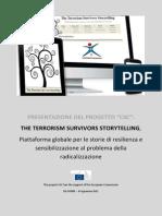 The Terrorism Survivors Storytellings (Italiano)