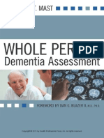 Whole Person Dementia Assessment (Mast excerpt)