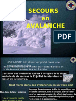 Avalanche Pyrenees