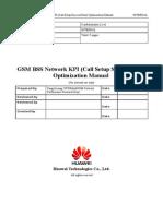 61607874 07 GSM BSS Network KPI Call Setup Success Rate Optimization Manual