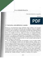 Giovanni Sartori Lo Que No Es La Democracia