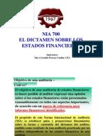 700 El Dictamen Del Auditor