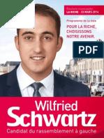 Programme Wilfried Schwartz 2014