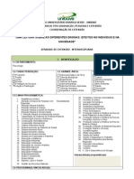 Formulário Ação de Extensão 2013 interdisciplinar