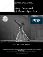 Bates Memorial 2013 Annual Report