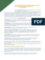 Solicitud de propuesta - materiales formativos y formación de formadores