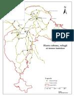 Harta Cabane, Refugii Si Trasee Turistice P Craiului