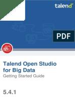 TalendOpenStudio BigData GettingStarted 5.4.1 En