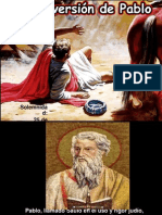 Conversión de San Pablo. 25 Enero.