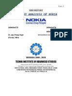 31768467 Company Analysis of NOKIA